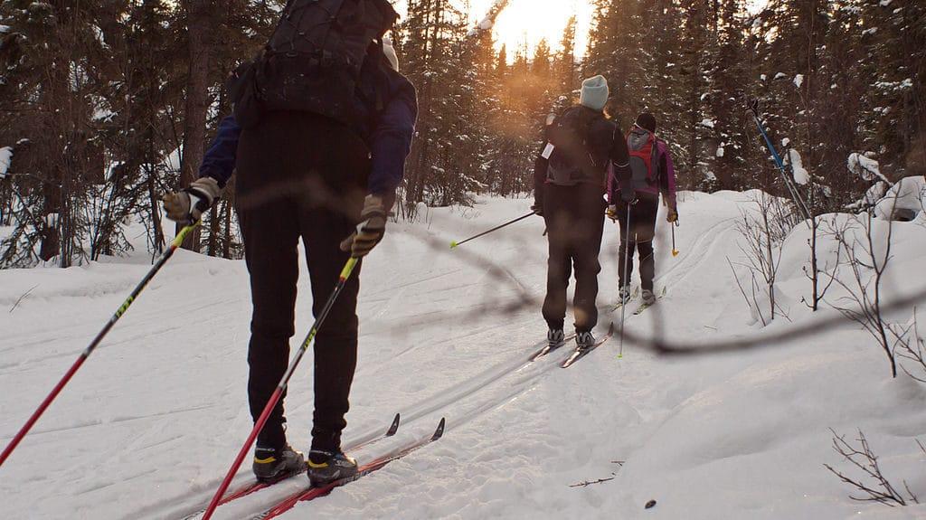 Daniel McKelvey Skiing NH
